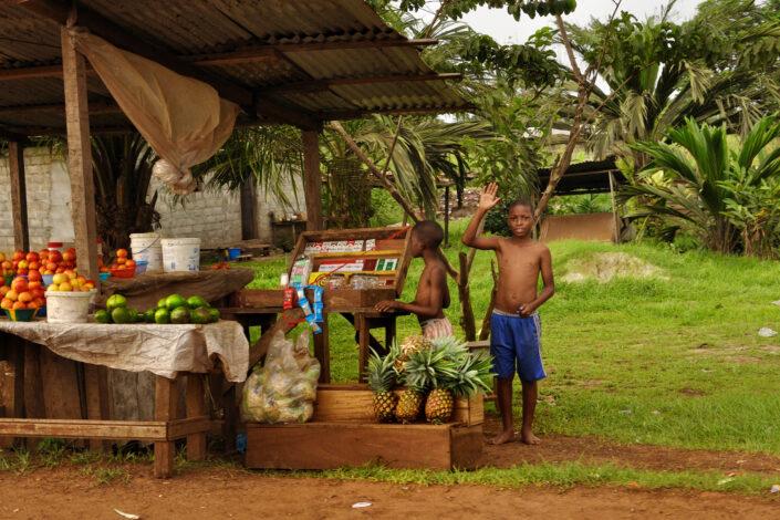 Jeune marchand, Gabon