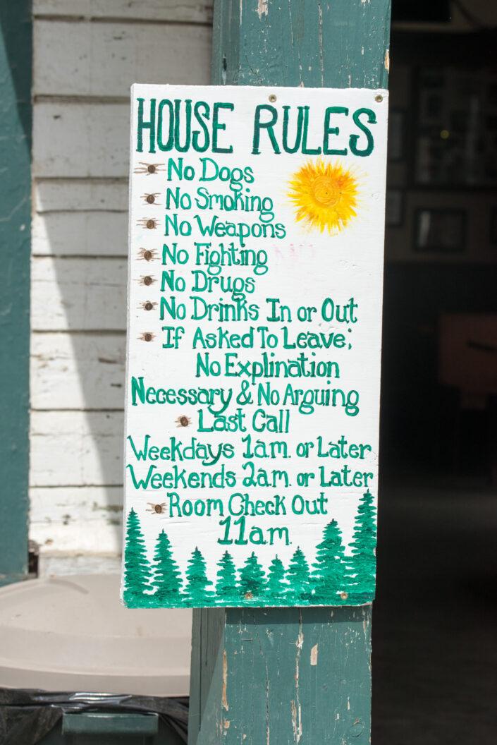 Alaska - House rules