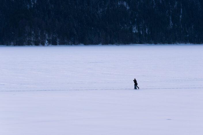 Love walk  on ice