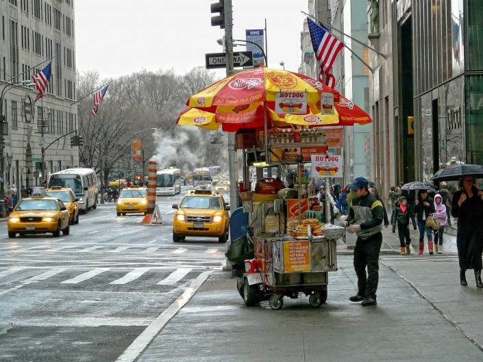 Hotdog on 5th avenue